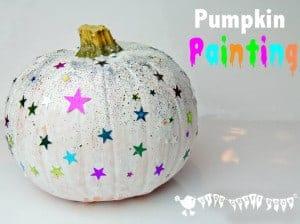 Painted Pumpkins – A Pumpkin Carving Alternative