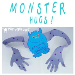 Monster Hugs - Fun Father's Day Craft