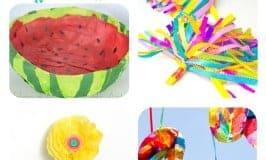 Tissue Paper Crafts For Kids