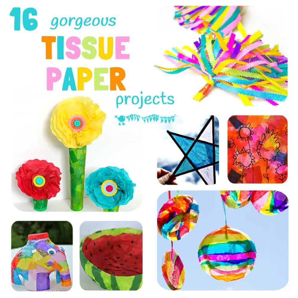 craft ideas with tissue paper tissue paper crafts for craft room 6350