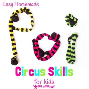 How To Make Sock Poi – Kids Circus Skills