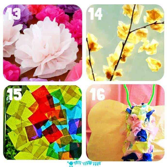 Tissue Paper Crafts For Kids Kids Craft Room