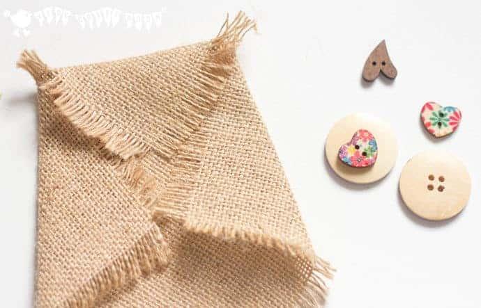 Fold-and-glue-burlap-to-make-owl-ears