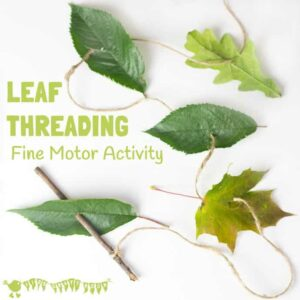 All Natural Leaf Threading
