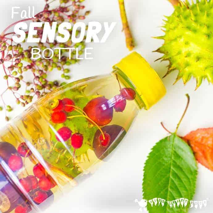Fall Sensory Bottles Kids Craft Room