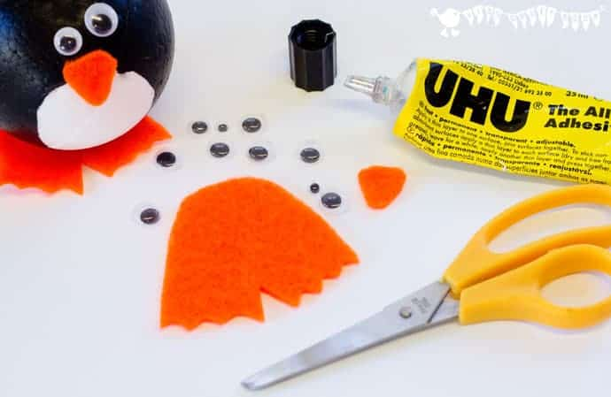 Add-the-features-to-penguin-ornaments-penguin-craft