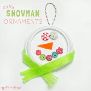 Cute Snowman Ornaments