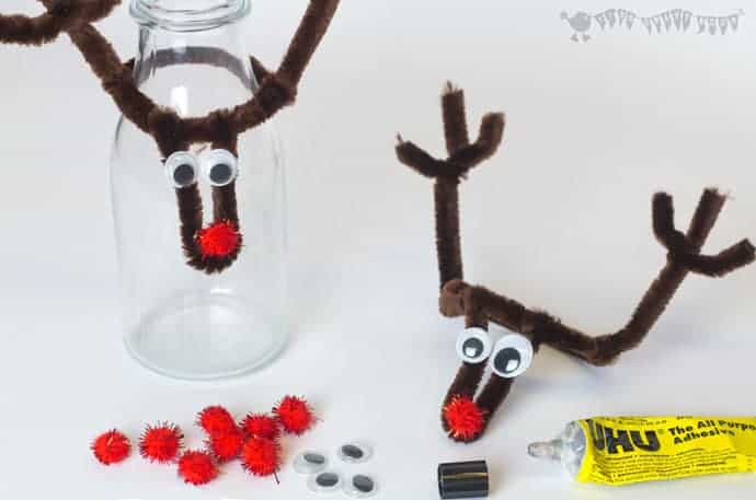 adding-features-to-christmas-reindeer-bottle-toppers step 3