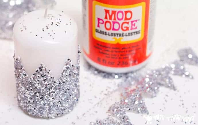 Have You Wondered How To Make Glitter Candles? These DIY Glitter Candles  Are Easy Enough