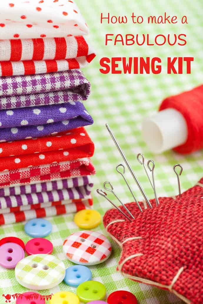 Are you thinking of putting together a sewing kit for yourself or a friend? Here are my top tips for what to include to make a kit that will be functional and inspire creativity for many years to come.