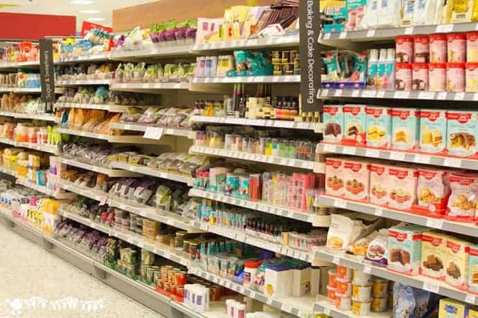 Shopping-for-supplies-in-Waitrose-for-wax-resist-sugar-wash-painting
