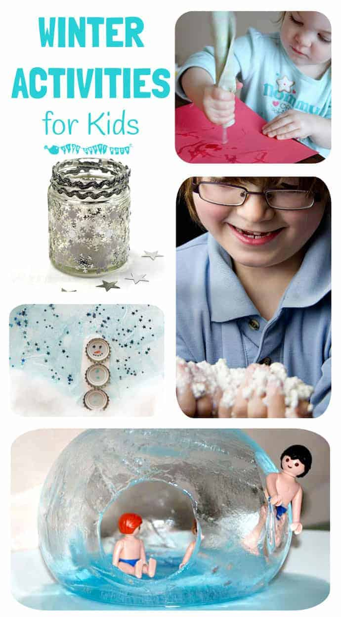 Winter Activities For Kids from January's #CreateMakeShare
