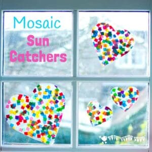 Suncatcher Mosaics For Kids