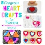 FANTASTIC HEART CRAFTS FOR TWEENS & TEENS. There's tasty sweets, pretty jewellery and decorations to make a bedroom super cute! Enjoy them on your own or with your BFF...you're going to LOVE them!