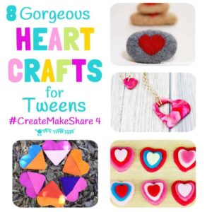Heart Crafts For Tweens