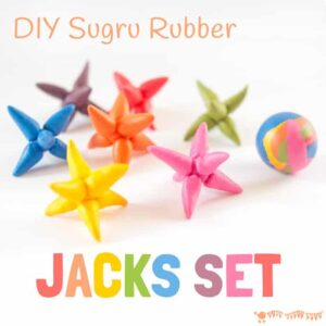 DIY Jacks Game – Sugru Craft Idea