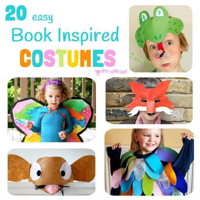 Easy book inspired costumes kids craft room 20 easy diy book inspired costumes perfect for dressing up on world book day and childrens solutioingenieria Images