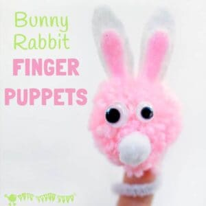 Bunny Rabbit Finger Puppets
