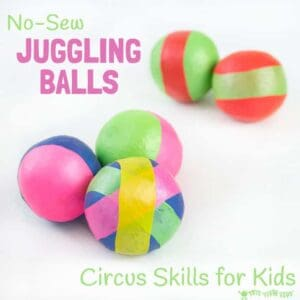 How To Make Juggling Balls – Kids Circus Skills