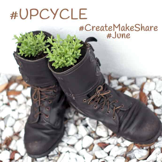 #CreateMakeShare #Upcycle #June - Link up your posts for a chance to be featured.