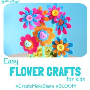 Easy Flower Crafts For Kids – #CreateMakeShare 6