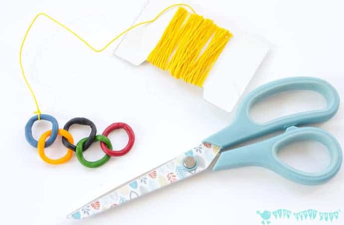 Olympic Craft Kids Necklace Kids Craft Room