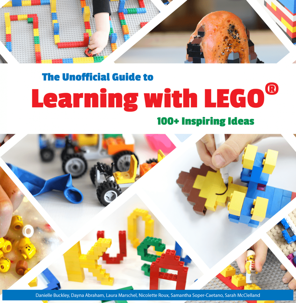 "2Have you got a LEGO lover? Here's a brand new book of kids activities I can't wait for you to see, ""The Unofficial Guide To Learning With LEGO"". Bursting with over 100 ways to create, play and learn with LEGO this book is a must have!"