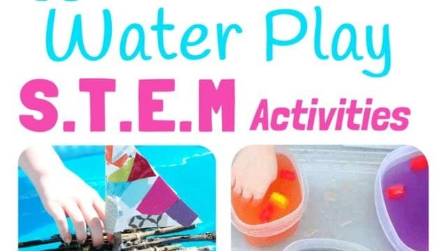 Water Play STEM Projects For Kids