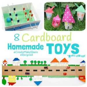 Cardboard Homemade Toys