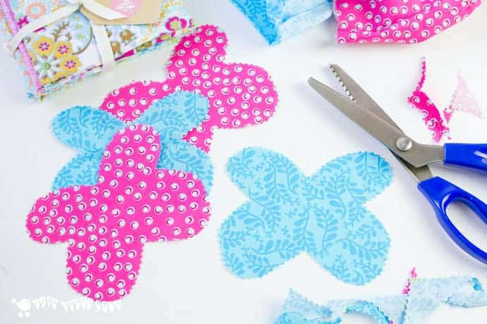 Cutting-wings-for-a-fabric--clothespin-butterfly-craft
