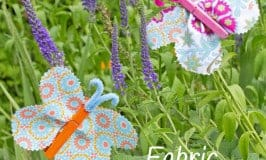 This FABRIC CLOTHESPIN BUTTERFLY CRAFT is cute, colorful and easy. Kids will love to decorate the house or garden with their beautiful handmade butterflies.
