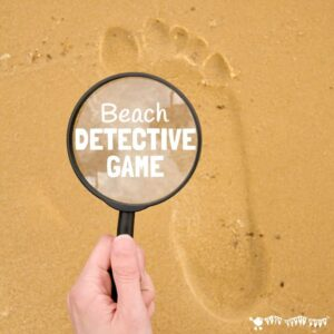 Footprint Trail Beach Detective Game