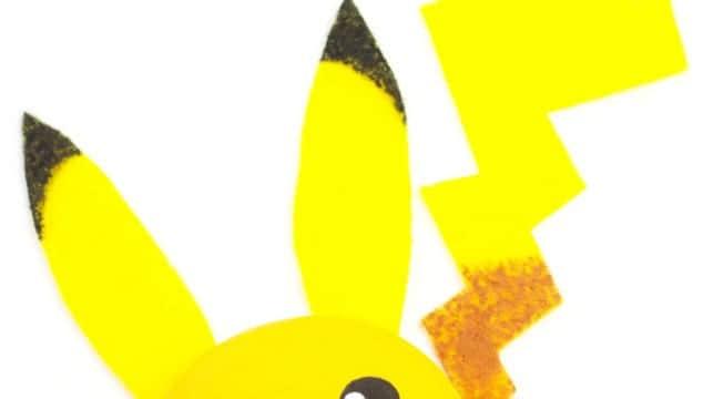 Pikachu Craft – Pebble Pokémon DIY