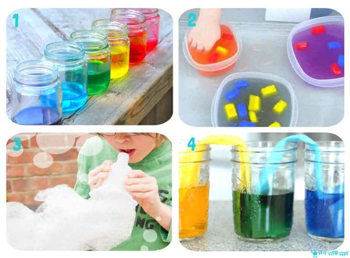 Water-Play-STEM-Projects-1-4 16 exciting Water Play STEM projects kids will love! STEM Water play ideas are great educational Summer activities...Kids learn best when they're having fun!