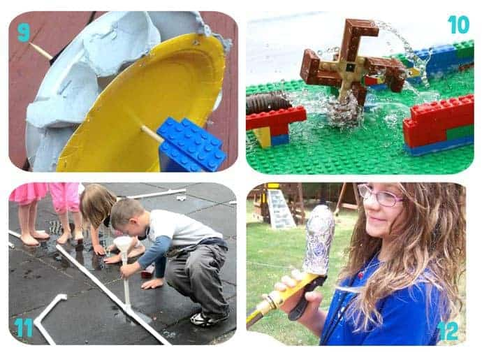 Water-Play-STEM-Projects-For-Kids-9-12. 16 exciting Water Play STEM projects kids will love! STEM Water play ideas are great educational Summer activities...Kids learn best when they're having fun!