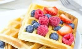 Gluten Free Honey Waffles