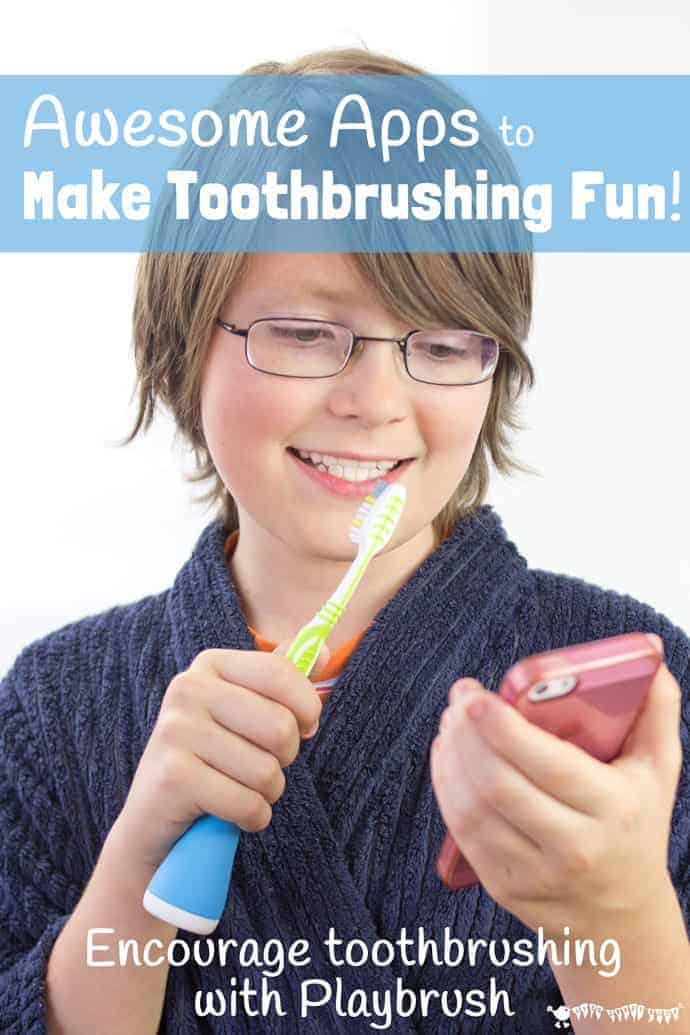 Encourage kids toothbrushing with awesome apps from Playbrush, the clever device that turns your kid's toothbrush into a games controller. Brushing your teeth has never been such fun! (Playbrush review and giveaway.)