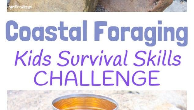 Coastal Foraging For Food-Survival Skills For Kids