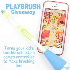 Encourage Kids Toothbrushing With Playbrush (Giveaway and Review)