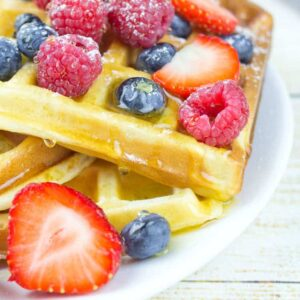 Gluten Free Honey Waffles