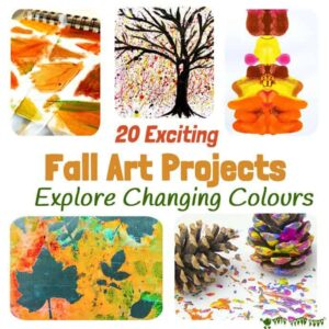 20 Fall Art Projects You Must Try
