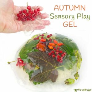 Awesome Autumn Sensory Play Gel
