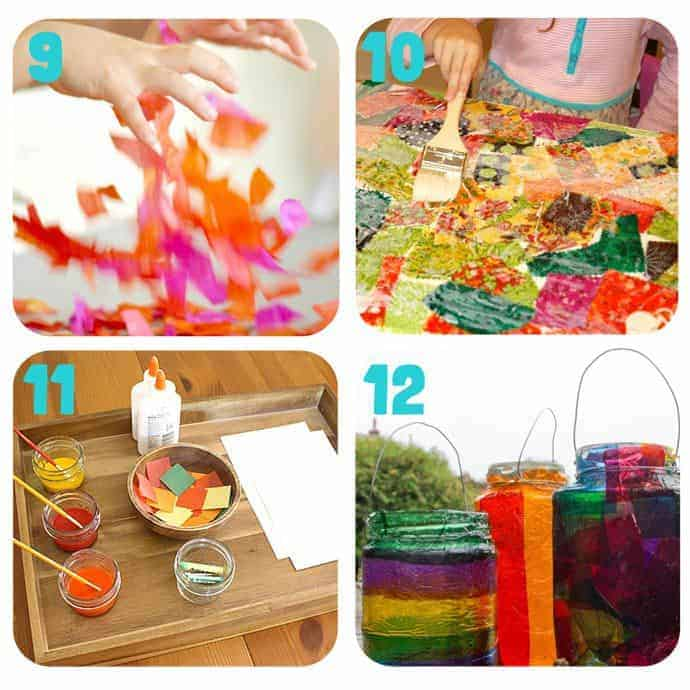 Collage-3-Fall Art Projects For Kids You Must Try! Here are 20 exciting Fall art ideas that explore Autumn colours in new and exciting ways. You'll never look at red, orange and yellow paint in the same way again! Fall Painting ideas made fun!