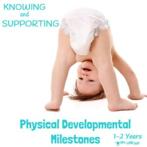Knowing the core physical developmental milestones between the ages of 1 -2 years can help us provide the best opportunities to support children's learning and help them reach their full potential.