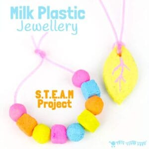 Milk Plastic STEAM Activity