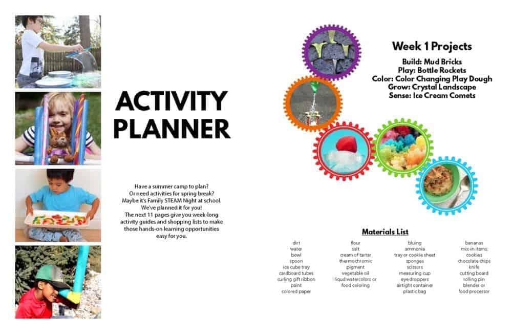 STEAM Kids Activity Planner