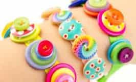 Snazzy Jazzy Button Bracelets