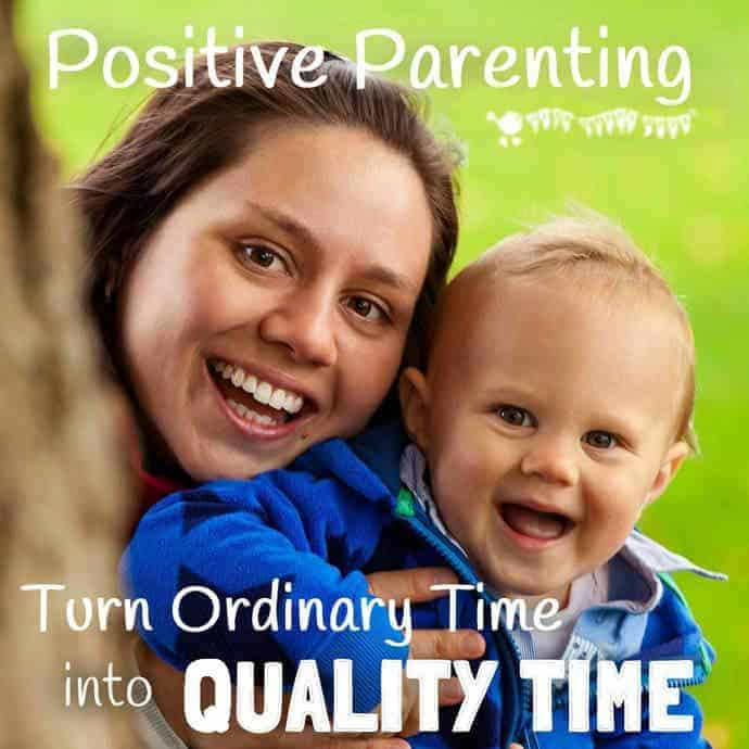 "POSITIVE PARENTING - MAKING QUALITY TIME Regular family ""quality time"" is so valuable for kids, developing their self esteem and self confidence and strengthening relationships and trust, but busy lives can make finding time hard! Let's look at top tips to easily turn ordinary time into ""quality time"" every day."