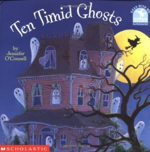 Ten Timid Ghosts book.
