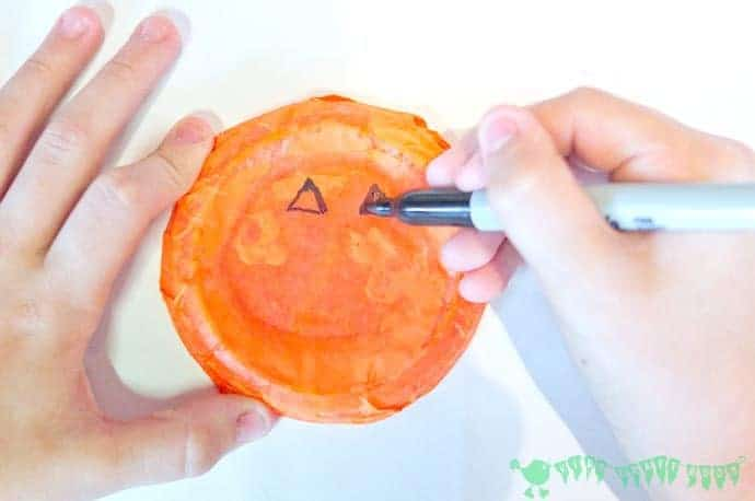 Easy Peasy Pumpkin Craft - stage 4